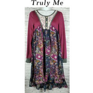 Truly Me by Sara Sara Hi Low Dress Size 16